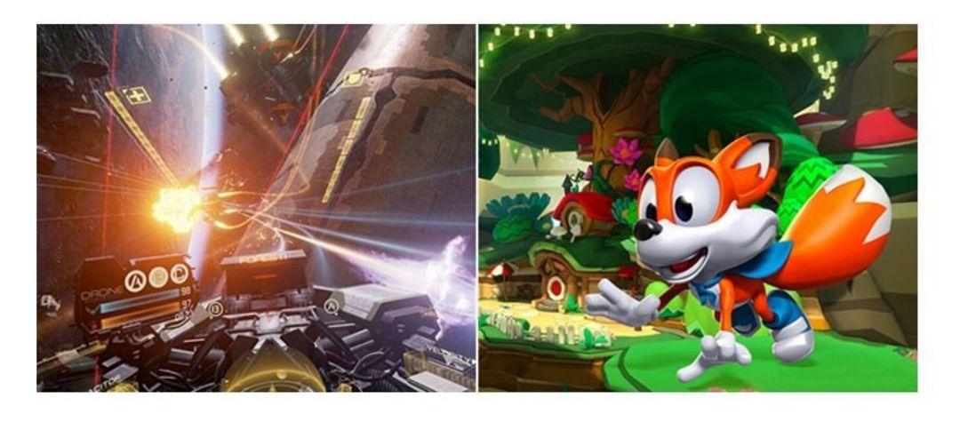 预装的两款游戏