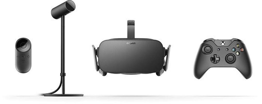 Oculus Rift 组件
