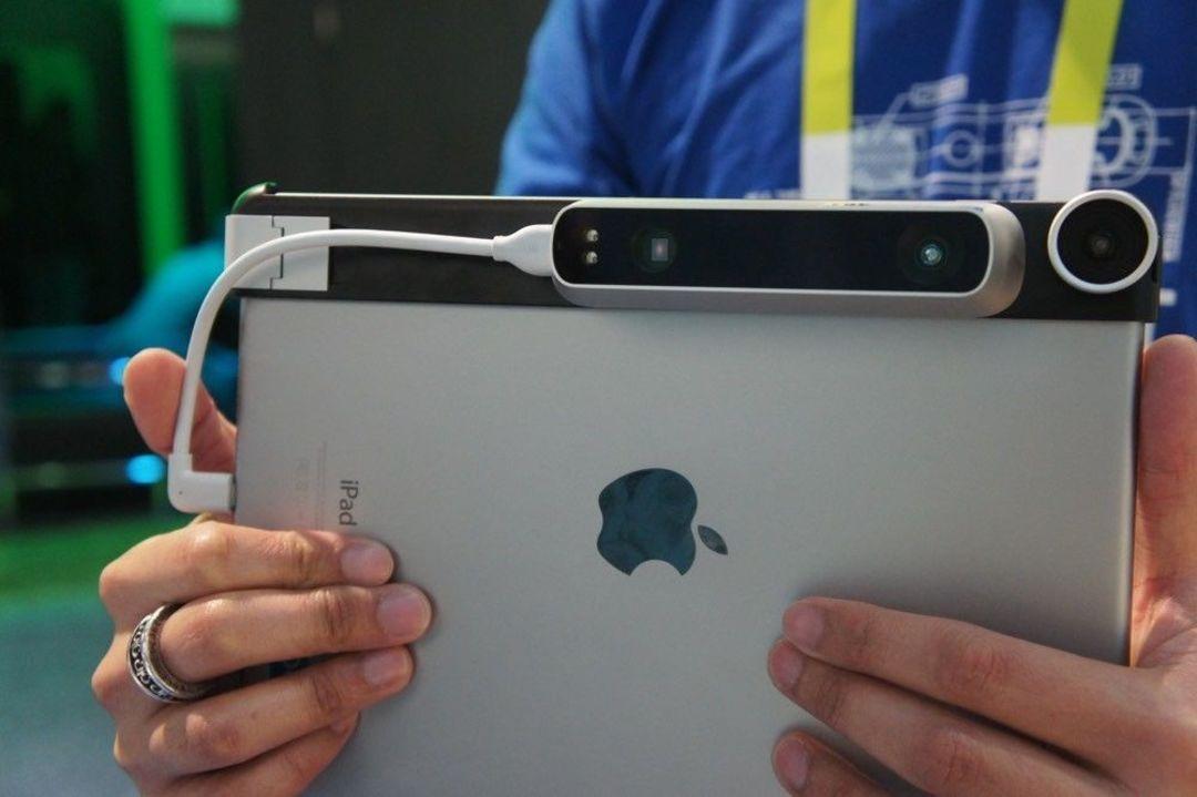 Structure Sensor 是一个 iPad 配件