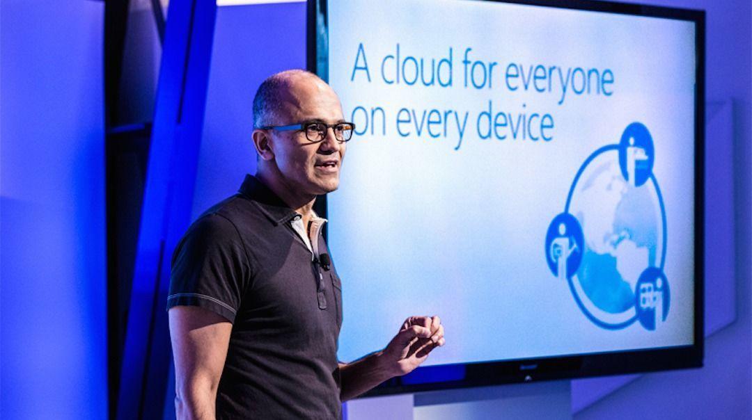 纳德拉讲微软云