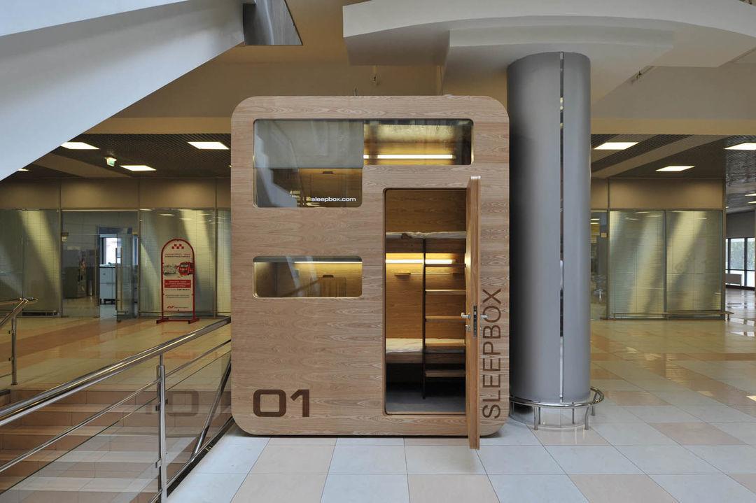 西安咸阳机场已经铺设了 Sleepbox