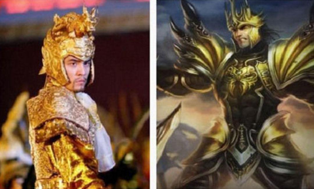 一直有人吐槽说《英雄联盟》里嘉文四世和周杰伦很像,如今周杰伦真的来了。