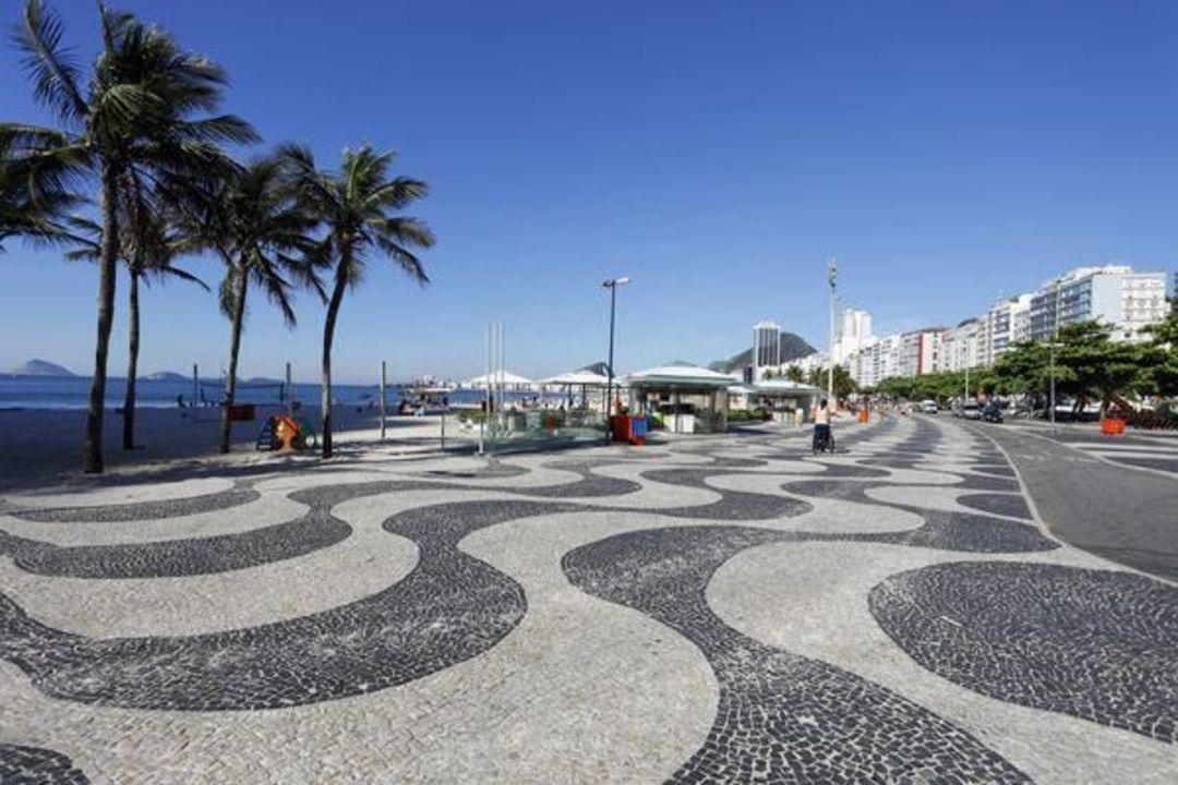 科帕卡巴纳海滩散步道