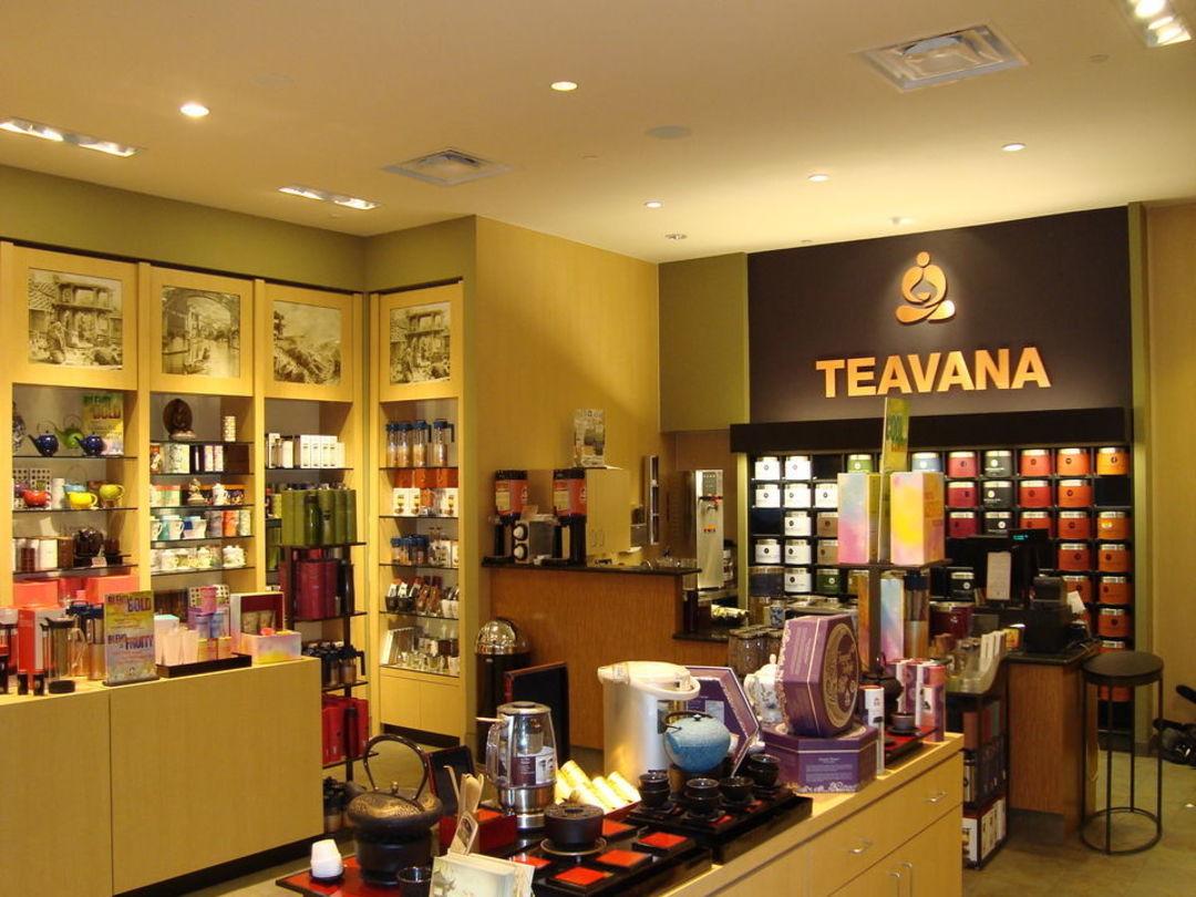 卖茶叶的 Teavana Store