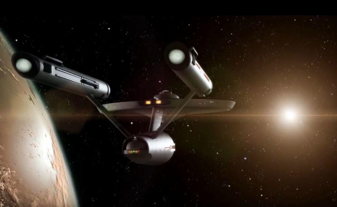 《 Star Trek: New Voyages 》12年介绍短片中的企业号