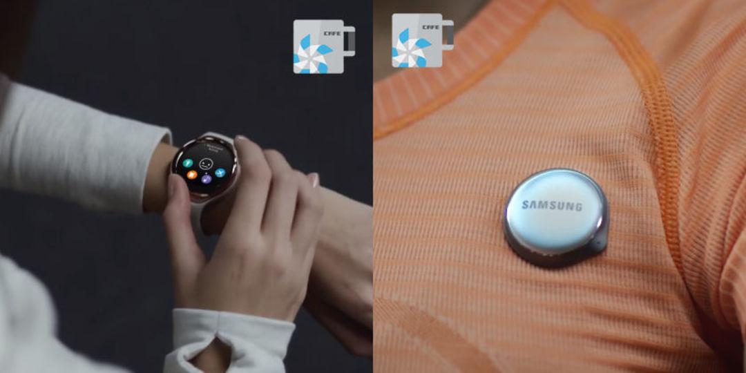 三星智能手表新产品照片,图片来自:推特@TizenCafe