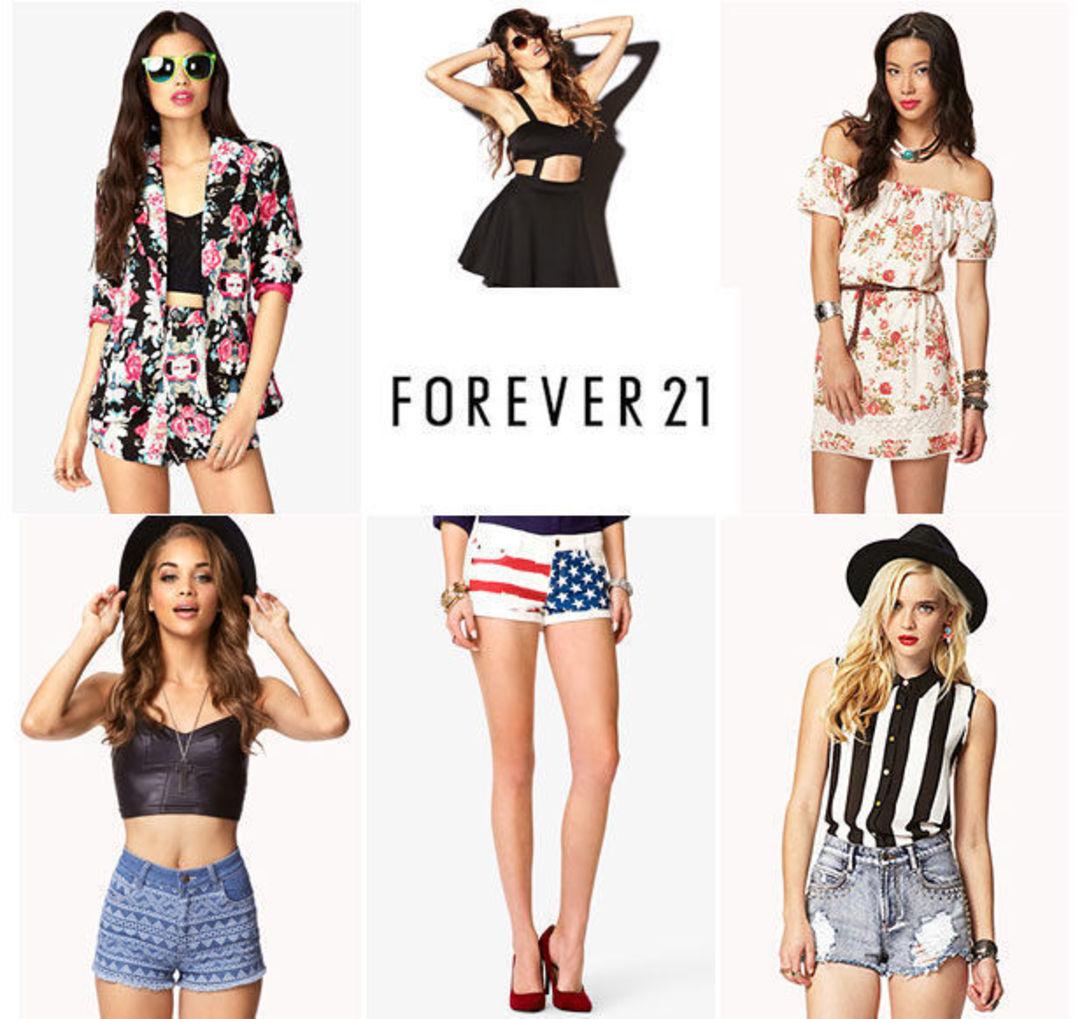 Forever 21 此前的风格是时尚、活力