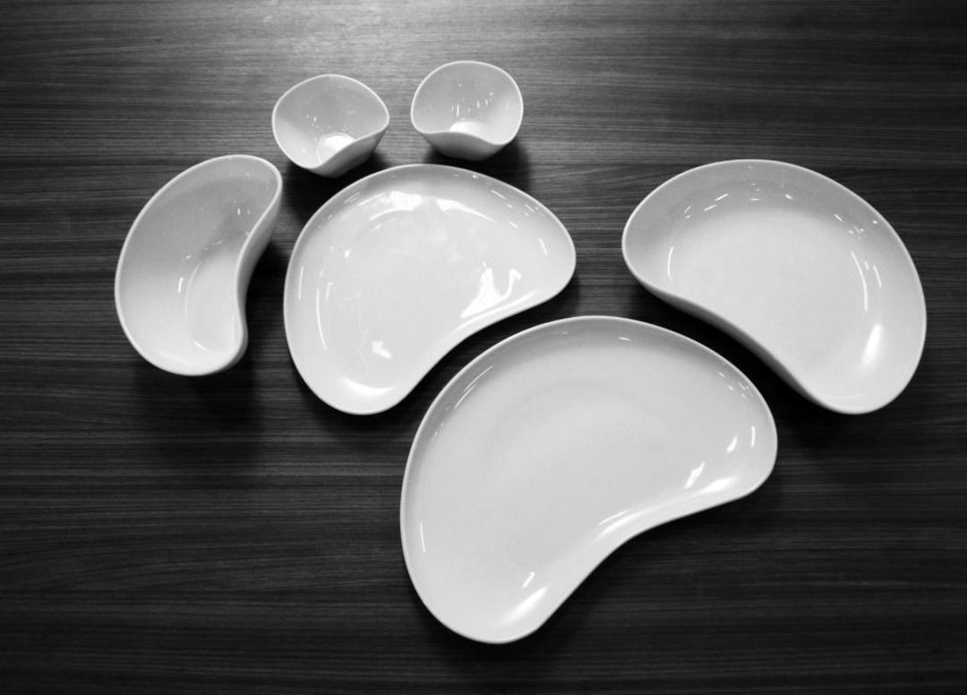 Handware Porcelain Dining Set by Paolini design