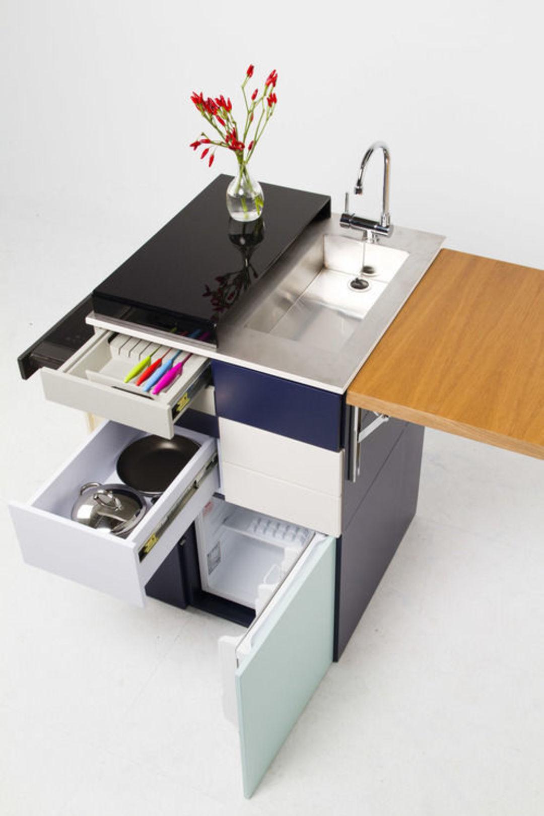 房子小还想有个专属厨房?你可以来看看这个小柜子_设计_好奇心日报