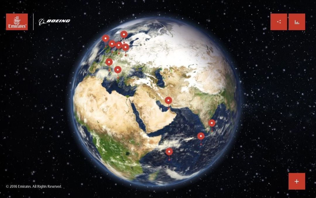 阿联酋航空用无人机拍了18 个旅游地给你看_商业_好奇心日报