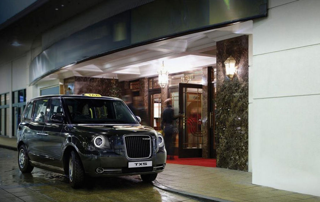 到了 2018 年,伦敦出租车就将换成零排放的吉利 TX5_设计_好奇心日报