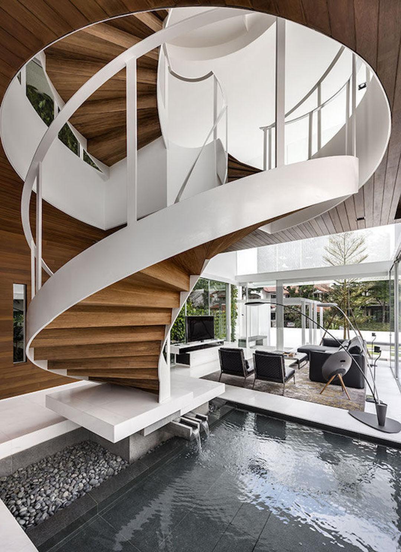 这幢两层玻璃房子,如何既拥抱自然又尊重隐私?_设计_好奇心日报