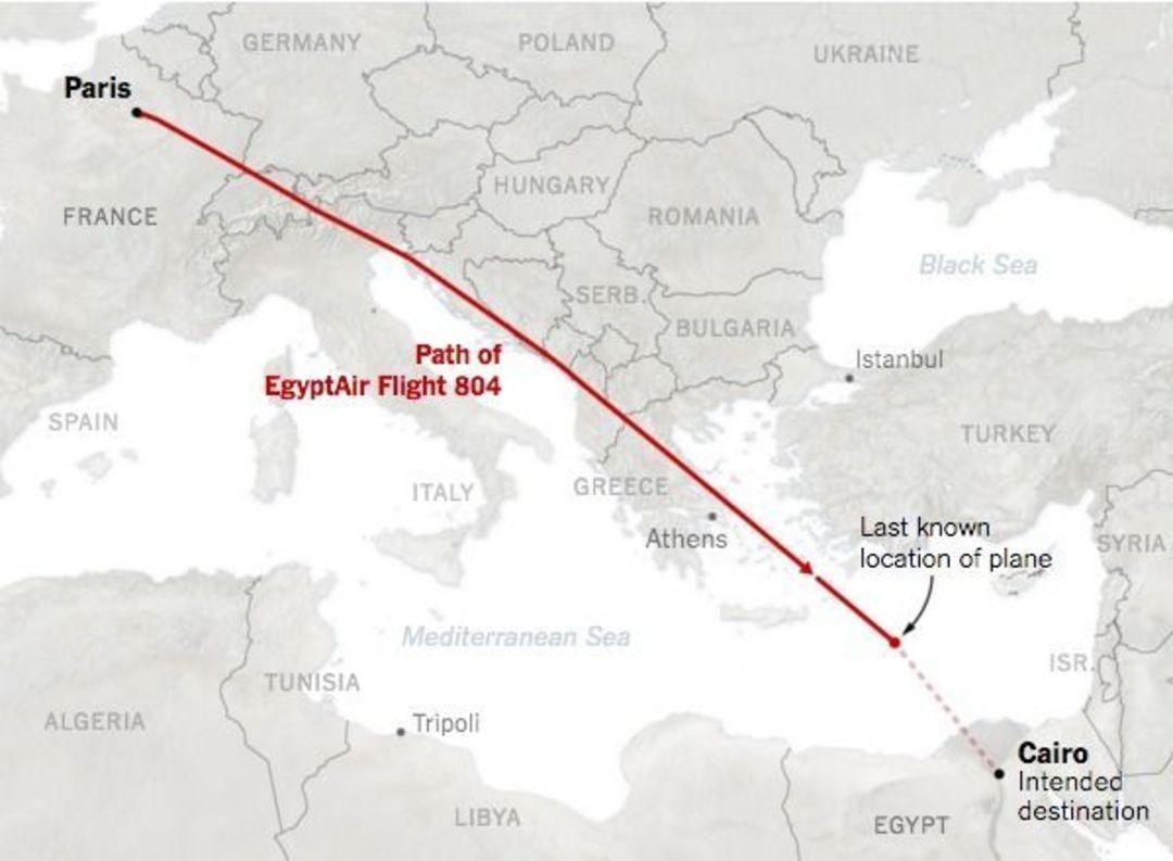 失踪的埃及航空804航班,失联前都经历了什么?_文化_好奇心日报