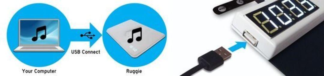 脚垫可用 USB 充电