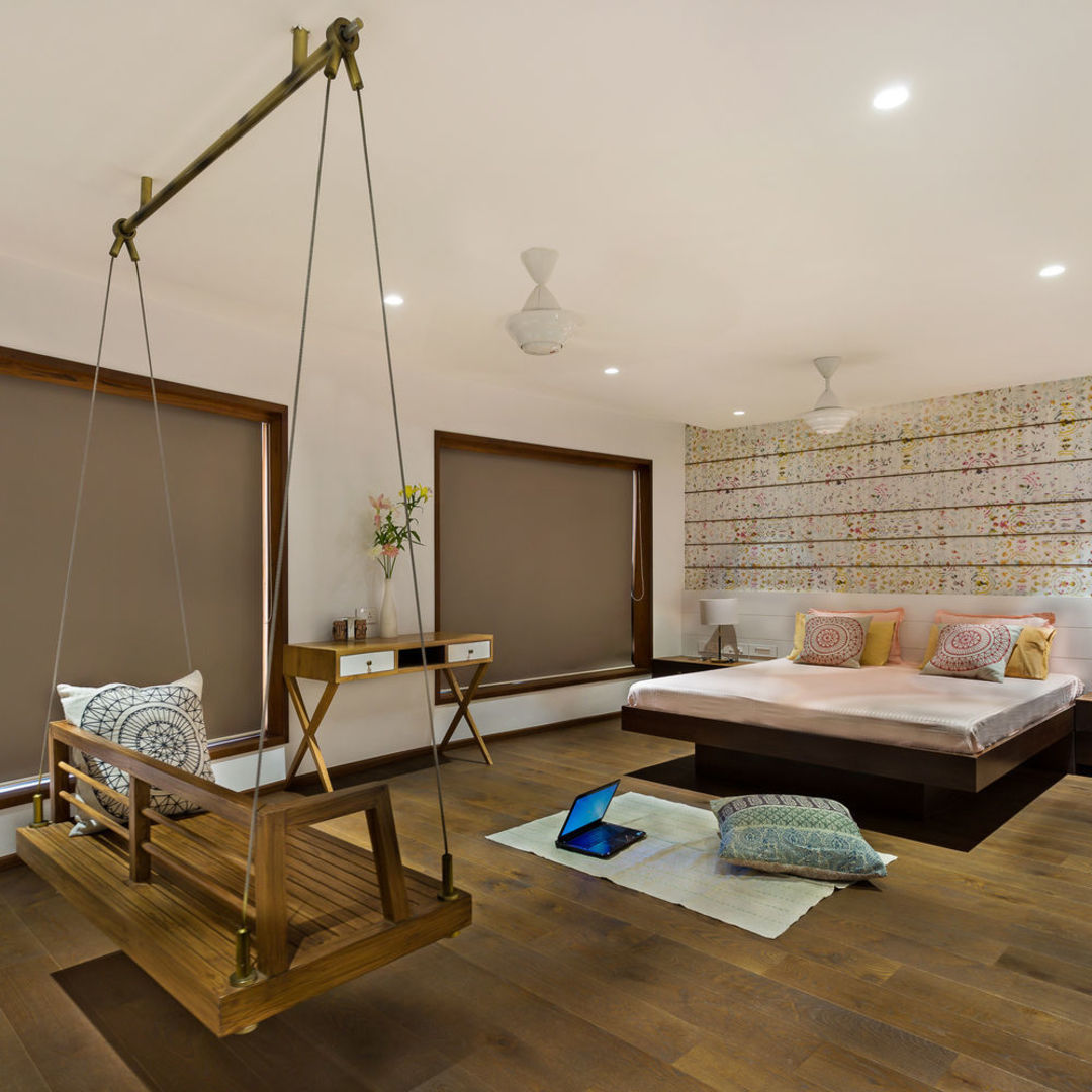 """孟买的这个住宅,试图挑战传统""""墙""""的设计_设计_好奇心日报"""