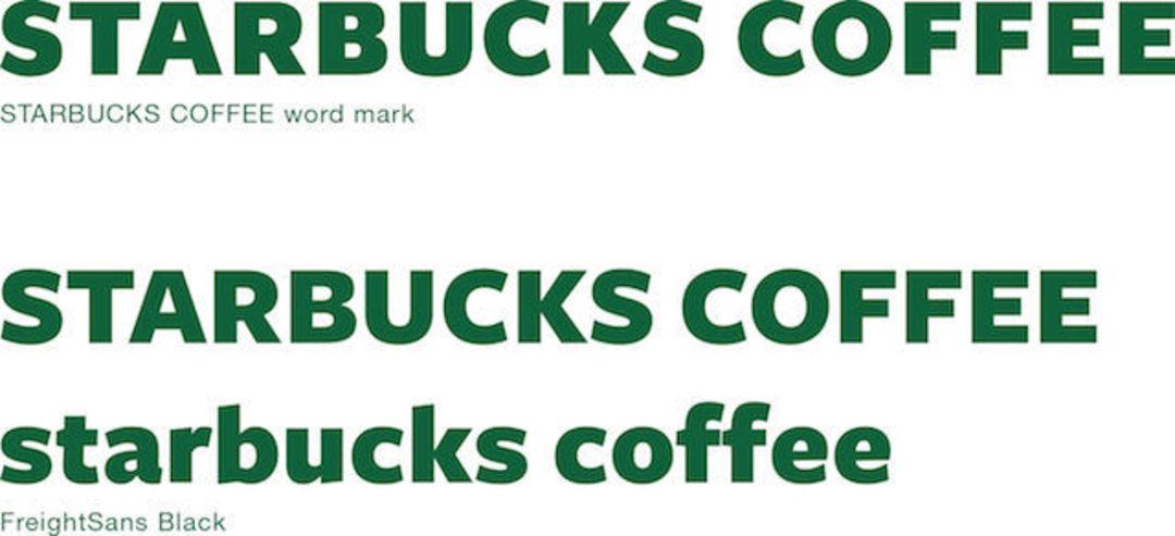 Starbucks Coffee 英文原稿与 Freight Sans Black