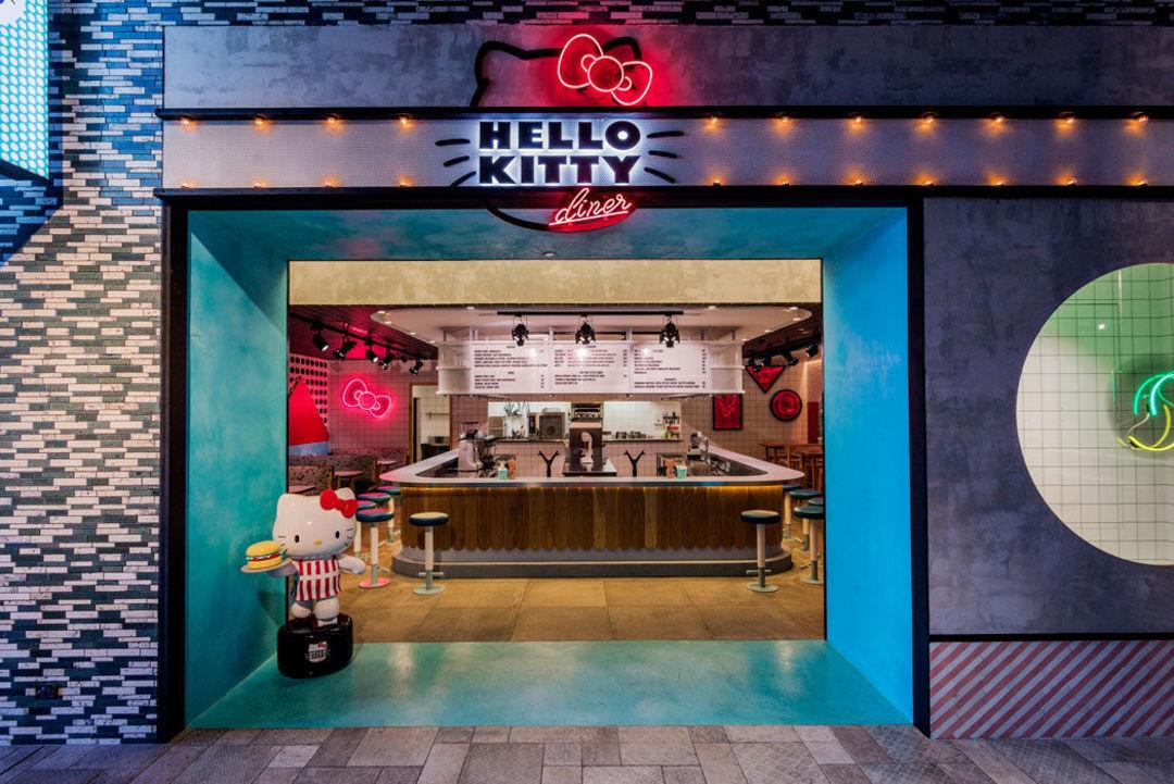 悉尼的 Hello Kitty Diner