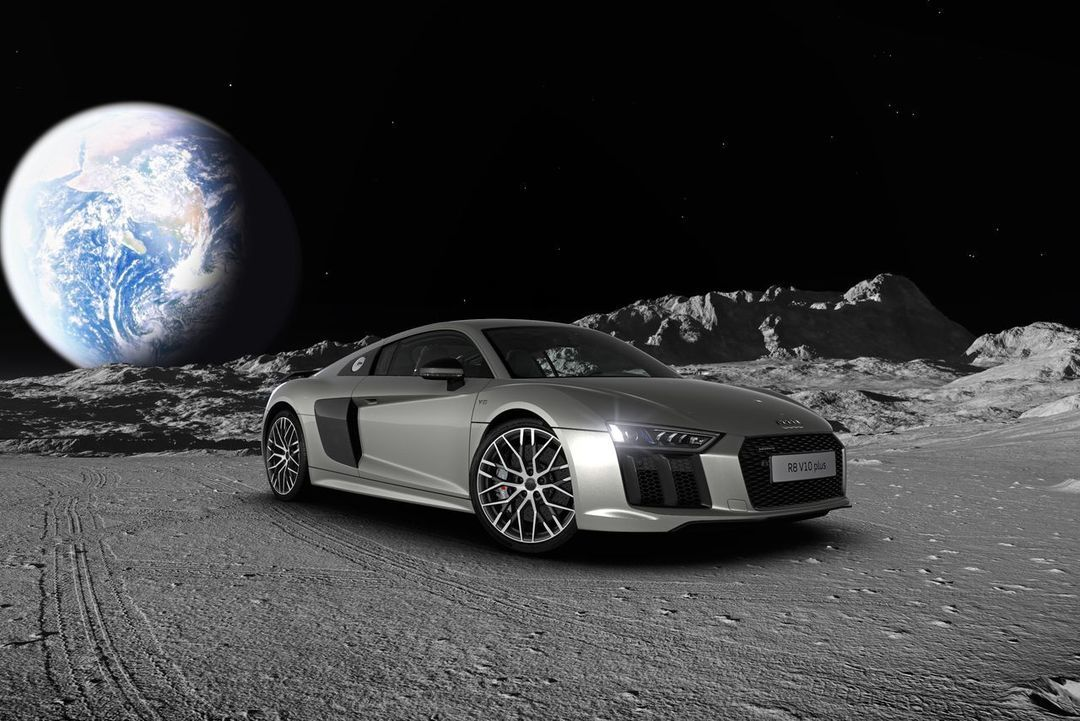 开车到月球