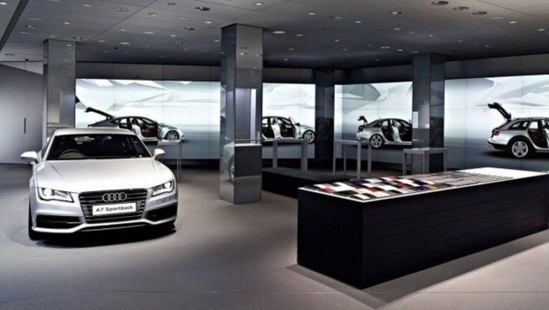 奥迪体验店 Audi City