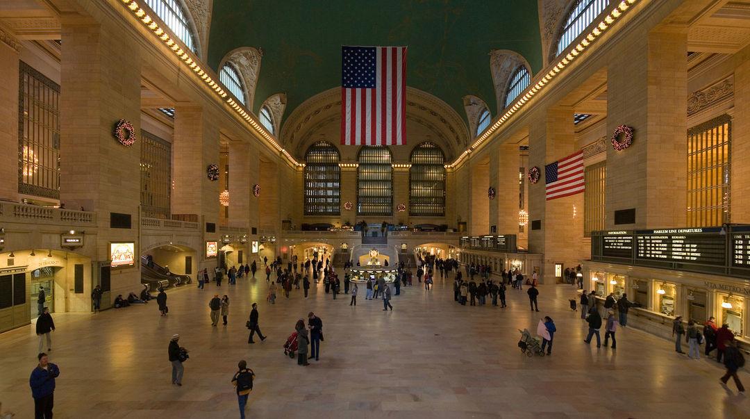 纽约中央车站,图片来自维基百科