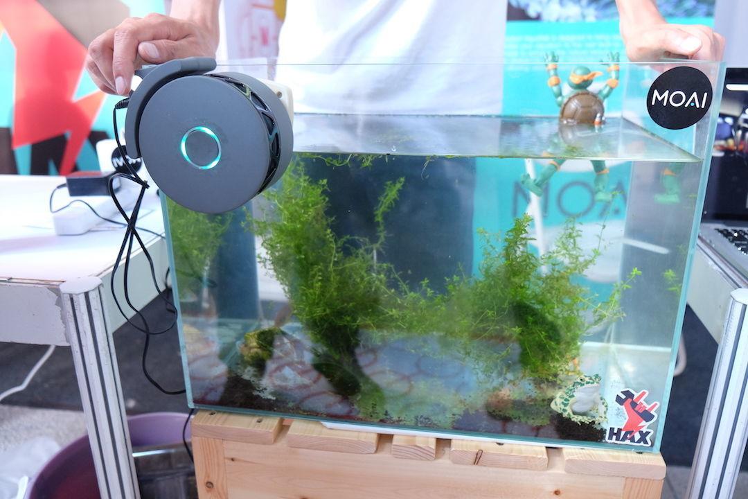 MoAI 智能鱼缸清洁设备