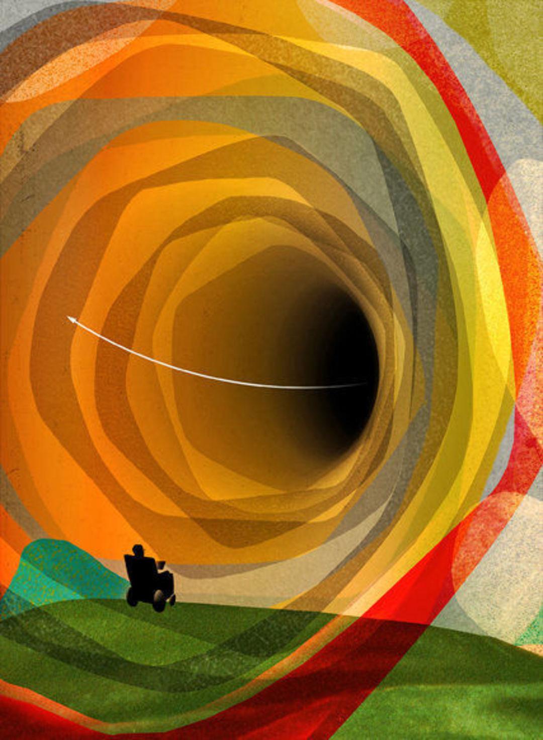霍金说,我们并非无法逃离黑洞_智能_好奇心日报