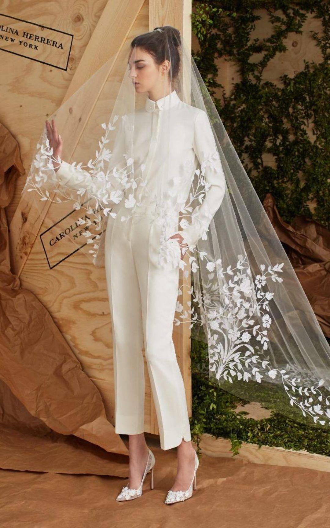 新一季婚纱流行看这里,7 个变化展示一个自由自我_时尚_好奇心日报