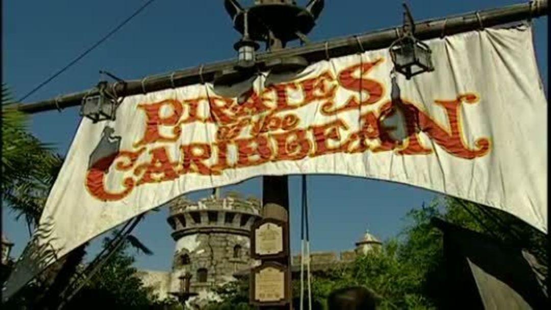 迪士尼樂園中的加勒比海盜