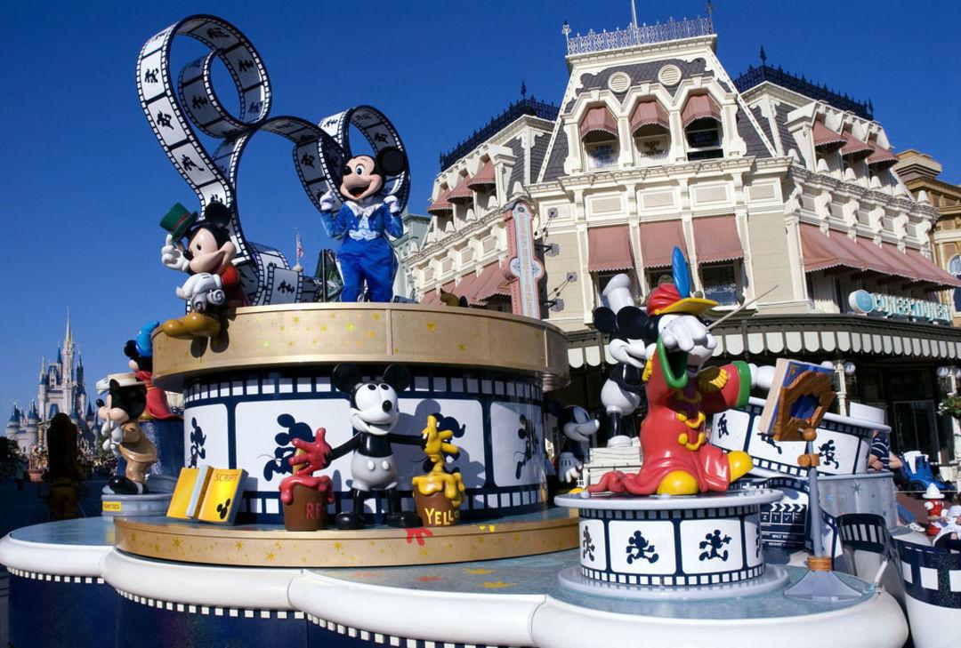佛羅里達州的迪士尼樂園魔法王國