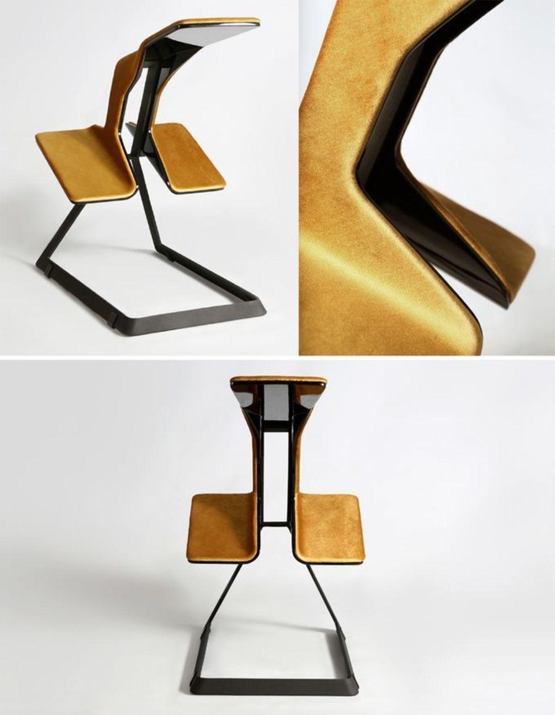 有久坐病的你,应该看看这款长相古怪的椅子_设计_好奇心日报