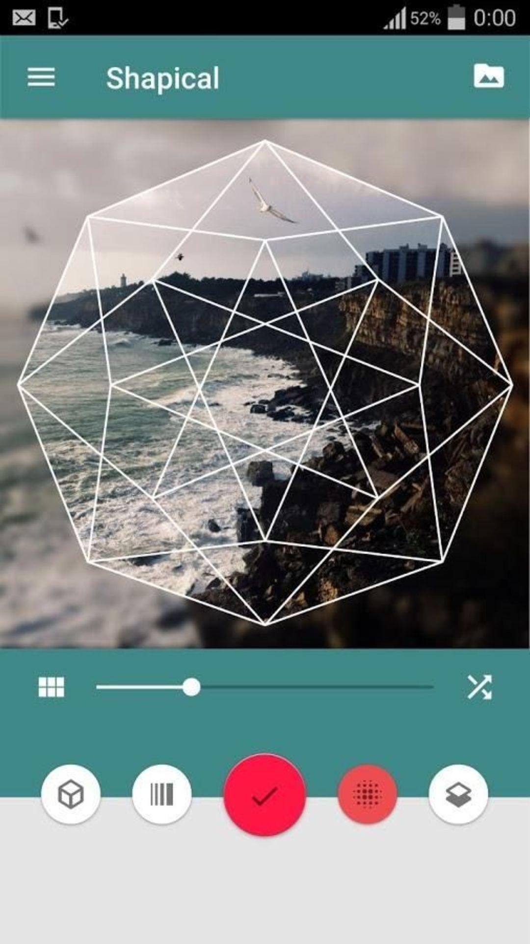 为了提升图片格调,这款应用提供了300款几何图形_智能_好奇心日报
