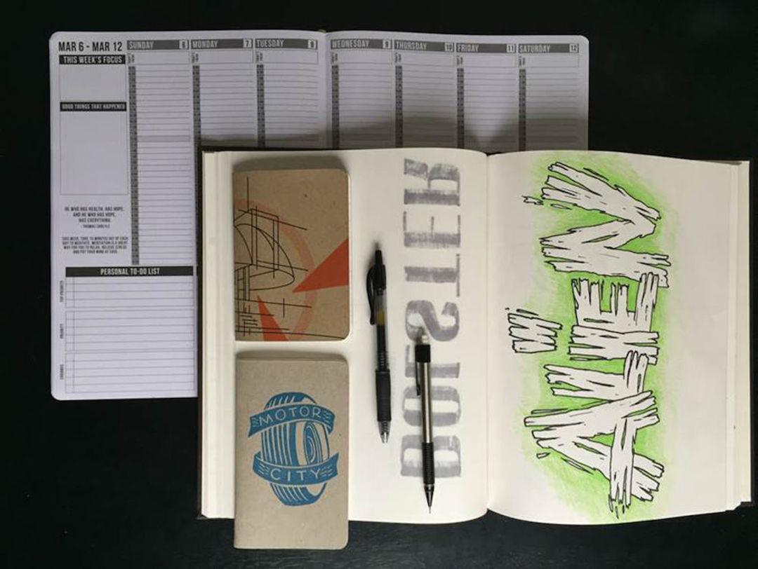 就是爱手写,16位设计师展示了笔记本里的灵感痕迹_设计_好奇心日报