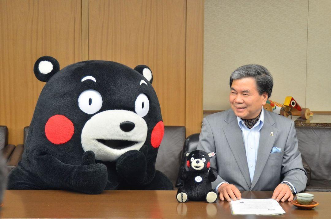 「日本語」欢迎来到熊本熊的同名车站_文化_好奇心日报