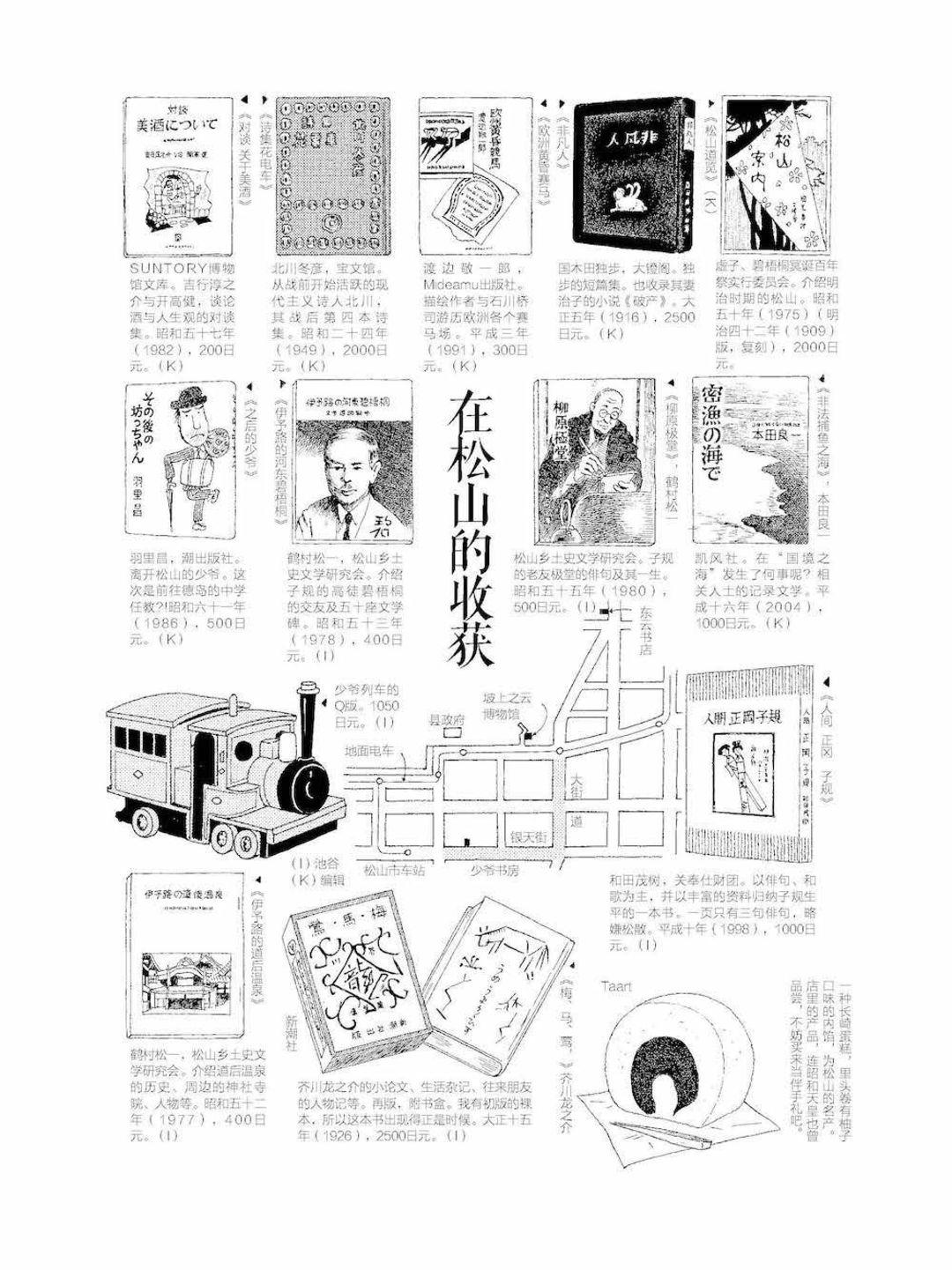 跟随这些手绘图,进行一次日本古书店之旅吧