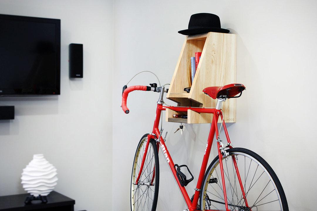 虫害木材不讨喜?用来做多功能自行车架正合适_设计_好奇心日报