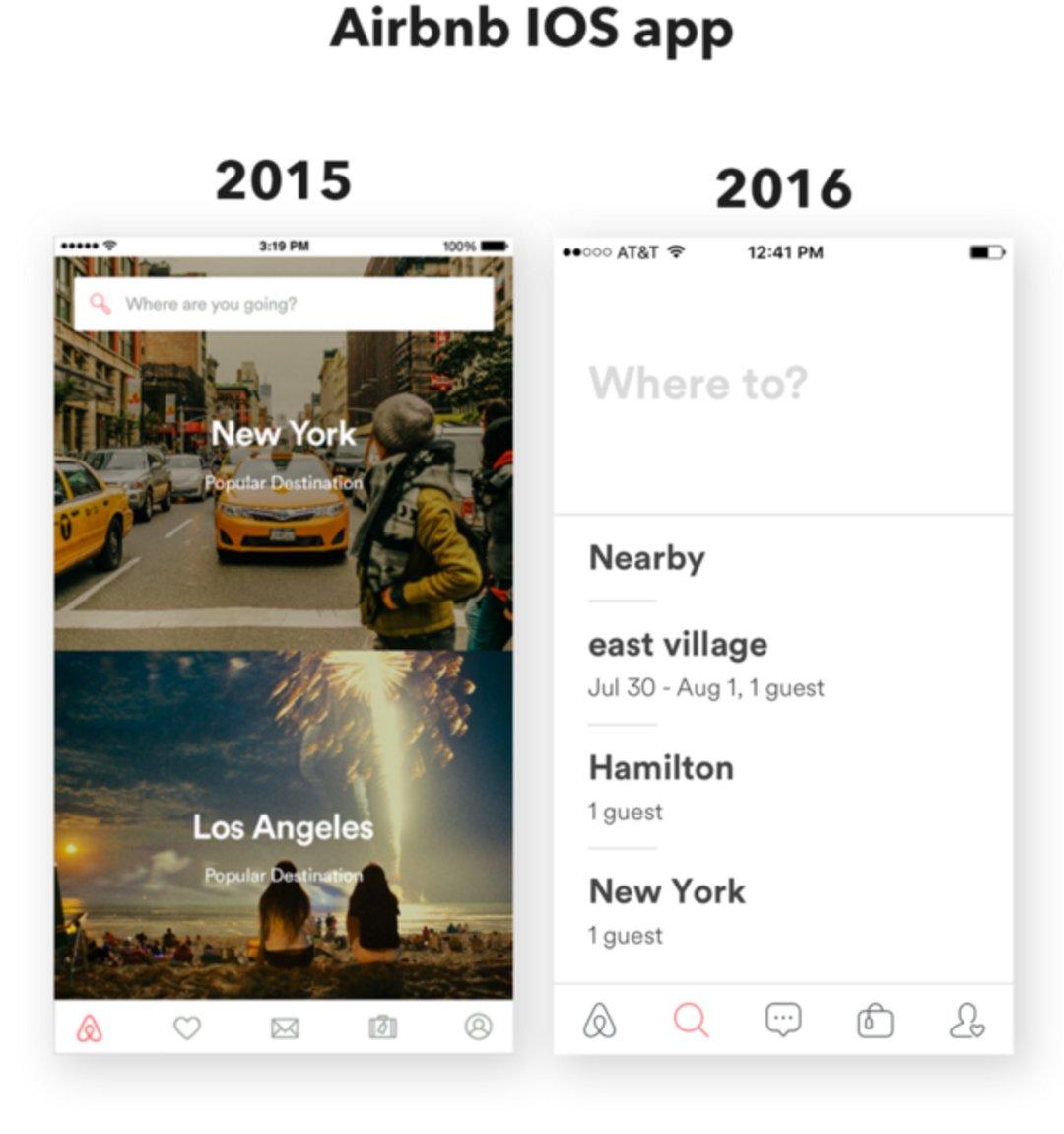 苹果和 Facebook 都在用这种风格设计界面,它叫什么?_设计_好奇心日报
