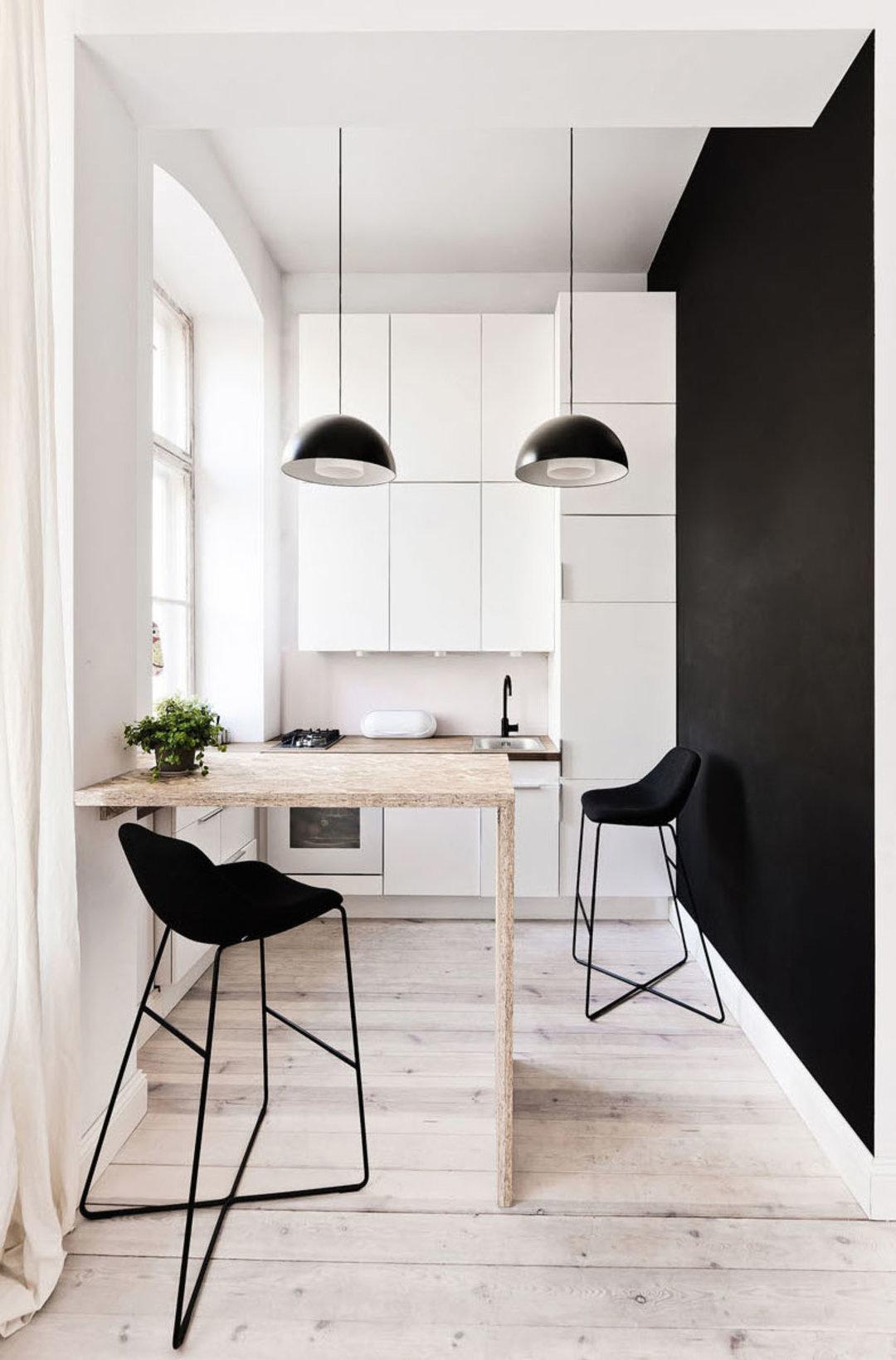 波兰这间 29 平米的公寓,并不会让生活很局促_设计_好奇心日报