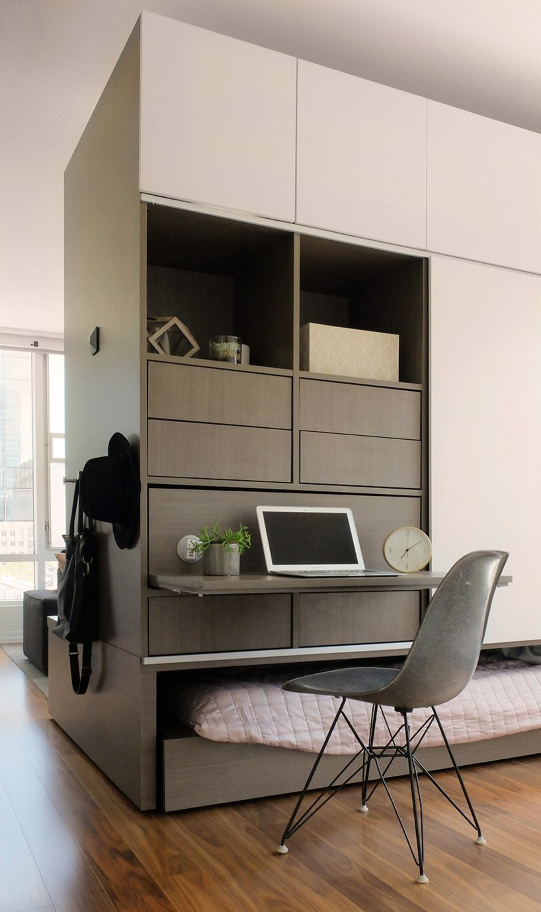 想让小公寓变大?这套智能家居系统可以提供一个思路_设计_好奇心日报