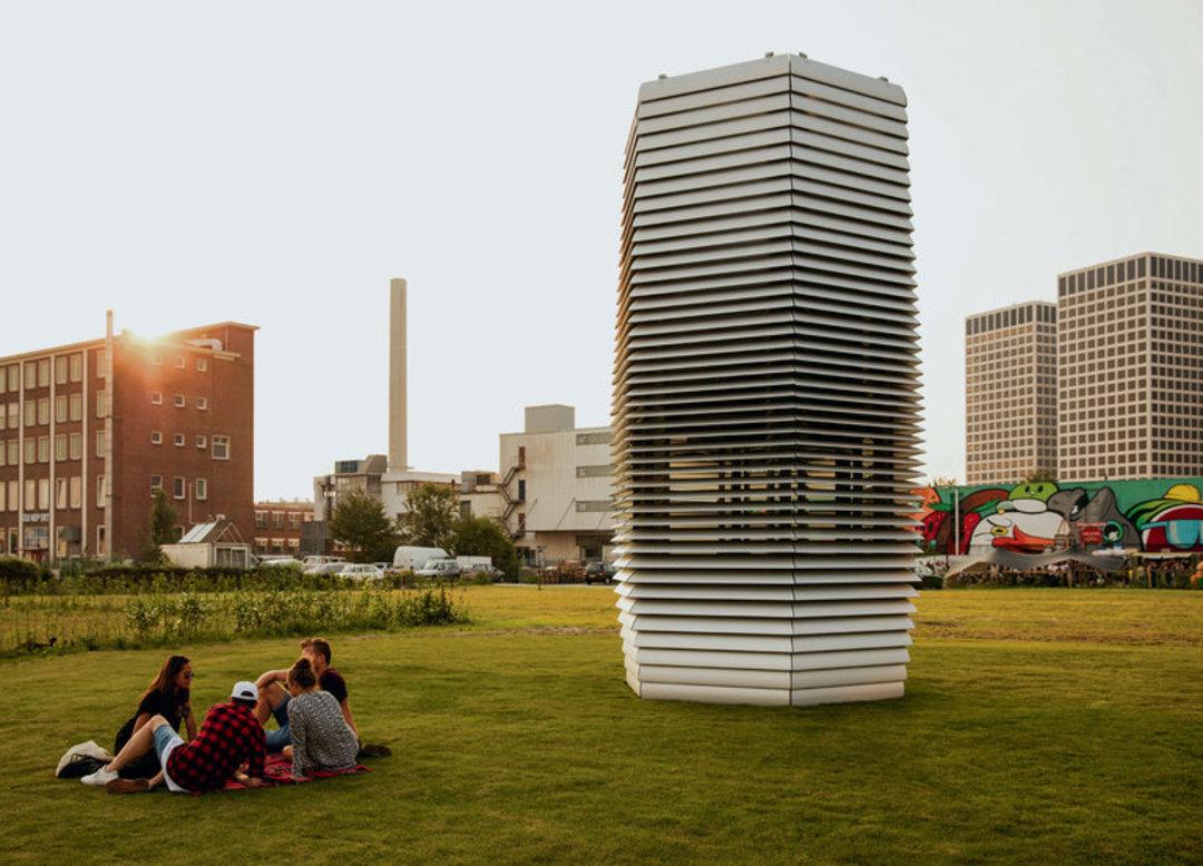 """荷兰人设计的""""吸霾塔"""",将在北京发挥功效_设计_好奇心日报"""