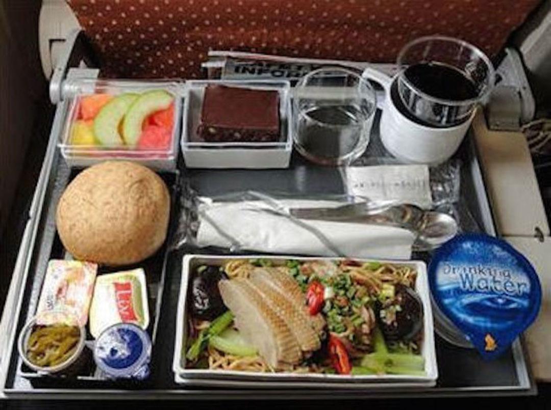 新加坡航空经济舱儿童餐