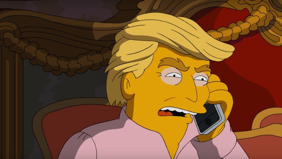早就预言特朗普会赢的辛普森一家,还是要把票投给希拉里_商业_好奇心日报