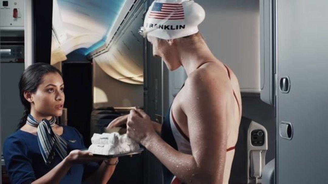 """美联航的奥运宣传视频,是一群运动员在制造""""麻烦""""_商业_好奇心日报"""