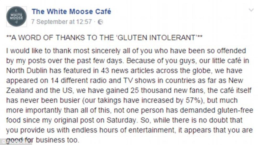 「这世界」那家和素食主义者吵起来的餐厅又向无麸质开火了_文化_好奇心日报