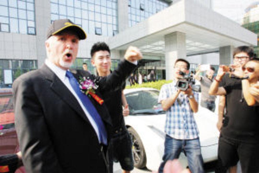 四年前卡梅隆和伙伴们来中国开了一家公司,要把《阿凡达》的先进3D技术带过来_娱乐_好奇心日报