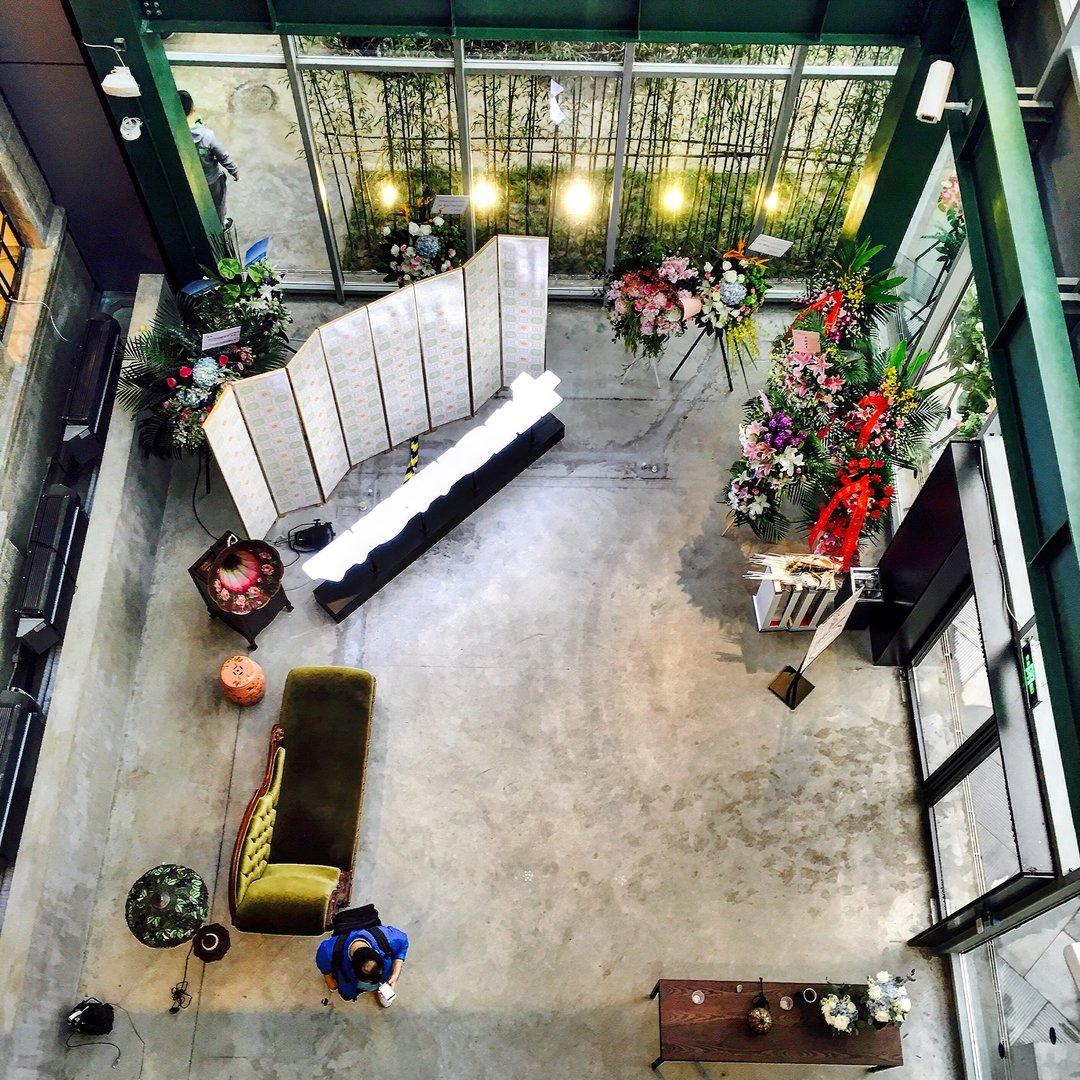 WeWork 在上海开出了第二个办公空间,由旧鸦片工厂改造