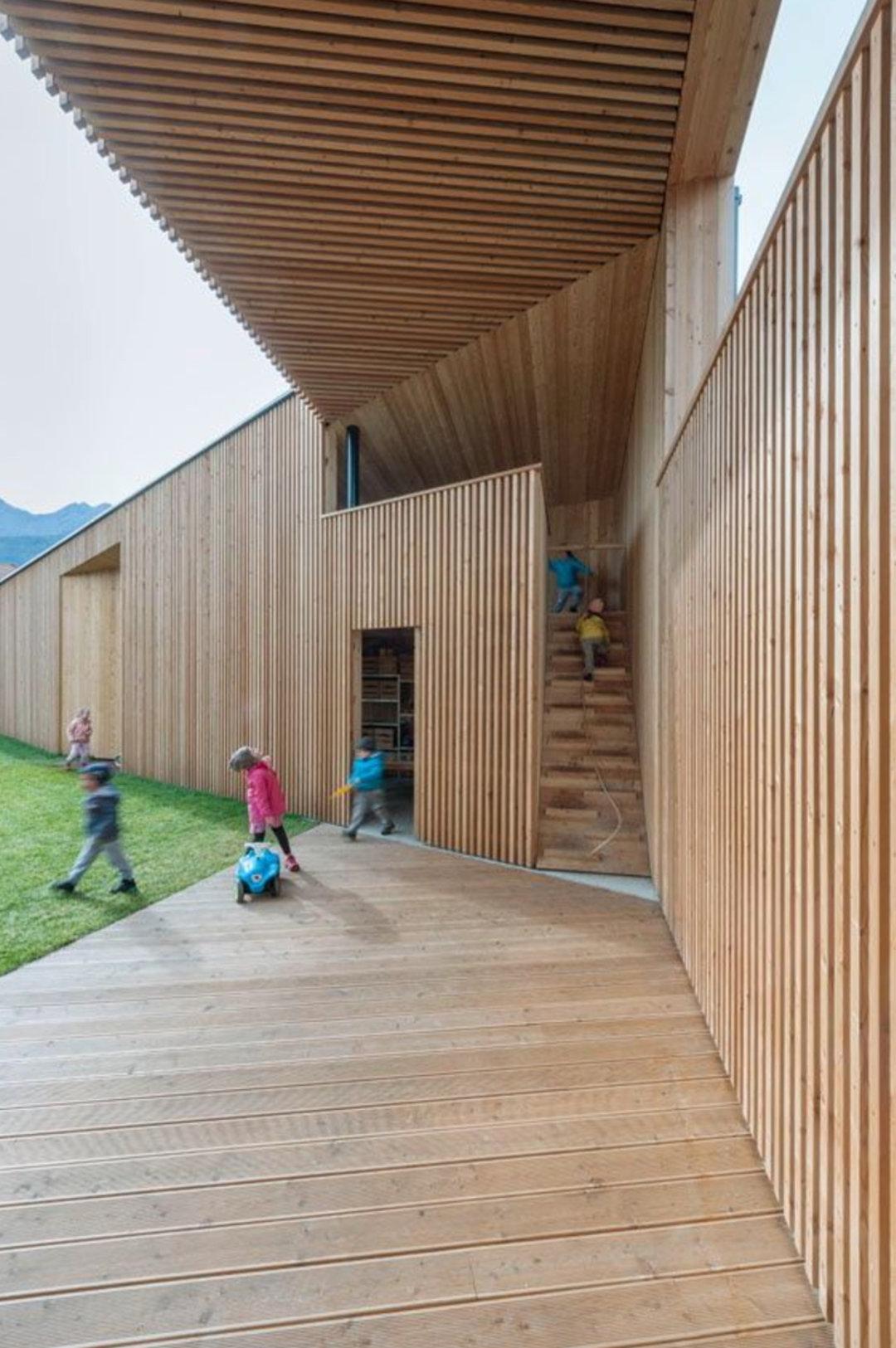 再看一个幼儿园设计,它藏了很多玩乐小心思_设计_好奇心日报