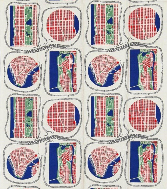 他是个纺织品图案设计师,主题都是战争阴霾下盛开的花园_设计_好奇心日报