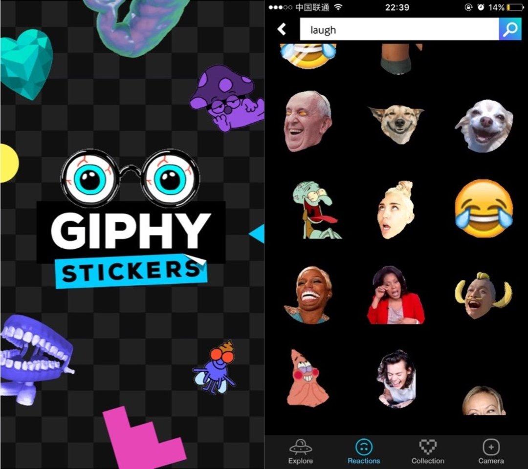 GIPHY 推了一款新 APP,想让你在斗图这件事上更尽兴_商业_好奇心日报