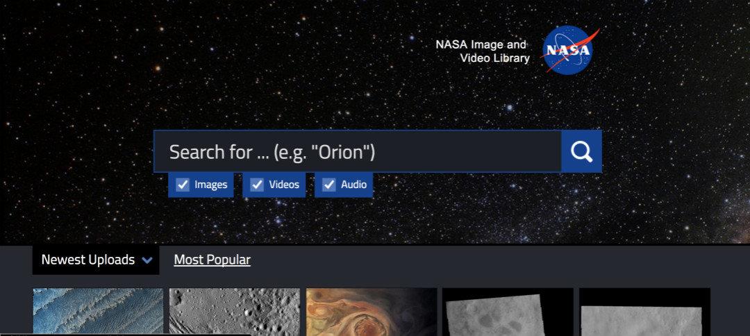 14 万张高清大图免费下,都是 NASA 记下的宇宙奇观_智能_好奇心日报
