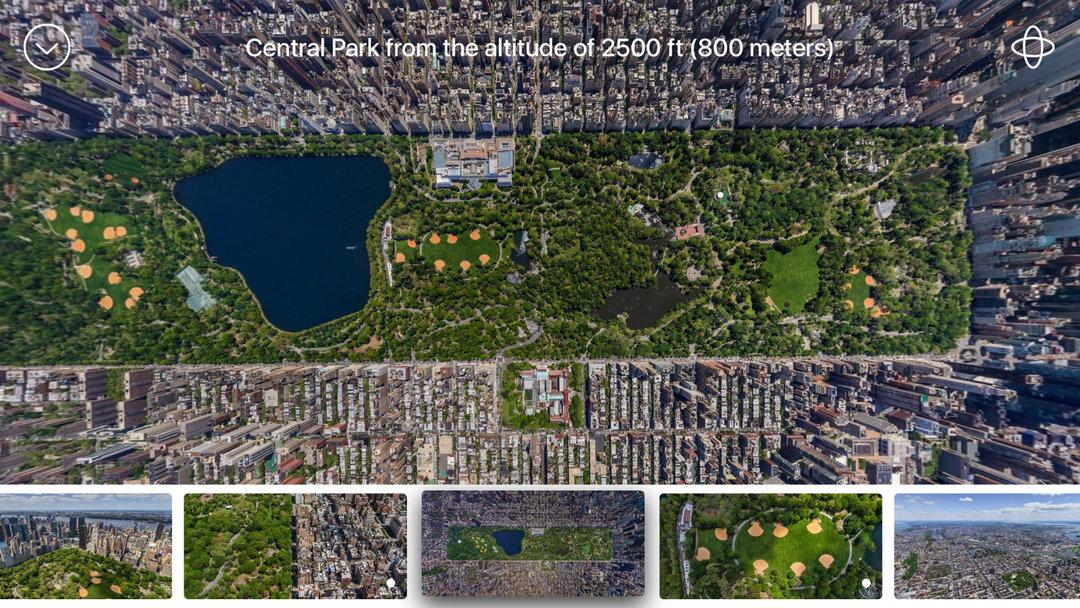 airpano 拍摄的纽约中央公园,巴黎圣母院和罗马斗兽场.图片